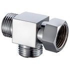 "T Connector with 1/2"" BSP Swivel Nut"