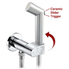 KIT6130: Pre-Set Thermostatic bidet shower kit with ceramic trigger